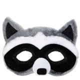 """Plüsch-Maske """"Waschbär"""""""