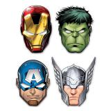 "Masken ""Mächtige Avengers"" 6-tlg."