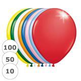 "Metallic-Luftballons ""Kunterbunt"" 30 cm"
