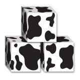 """Mini Geschenkboxen """"Kuhflecken"""" 3er Pack"""
