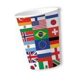 Pappbecher International 10er Pack