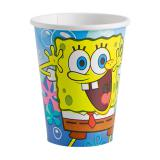 "Pappbecher ""Spongebob Schwammkopf"" 8er Pack"