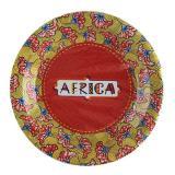 "Pappteller ""Afrika"" 10er Pack"