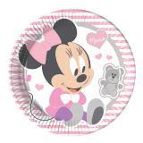 """Pappteller """"Baby Minnie und Daisy"""" 8er Pack"""