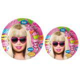 """Pappteller """"Barbie"""" 8er Pack"""