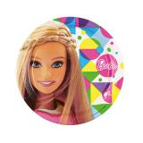 "Pappteller ""Bunte Barbie Welt"" 8er Pack"