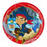 "Pappteller ""Captain Jake & die Nimmerland Piraten"" 8er Pack"