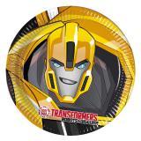 """Pappteller """"Coole Transformers"""" 8er Pack"""