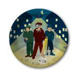 "Pappteller ""Detektiv-Alarm"" 8er Pack"