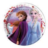 Pappteller Die Eiskönigin - Frozen II Waldgeflüster 8er Pack
