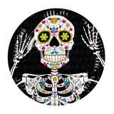"Pappteller ""El Dia de los Muertos"" 6er Pack"