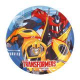 """Pappteller """"Fantastische Transformers"""" 8er Pack"""