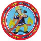 "Pappteller ""Feuerwehrmann Sam"" 8er Pack"