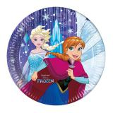 "Pappteller ""Frozen - Schneegestöber"" 8er Pack"