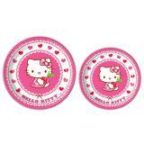 """Pappteller """"Hello Kitty"""" 8er Pack"""