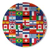 Pappteller International 10er Pack