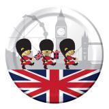 """Pappteller """"Königliches England"""" 8er Pack"""