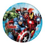 "Pappteller ""Mächtige Avengers"" 8er Pack"