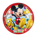 """Pappteller """"Micky Maus Clubhaus"""" 8er Pack"""