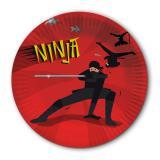 "Pappteller ""Mutiger Ninja"" 8er Pack"