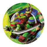 "Pappteller ""Ninja Turtles"" 8er Pack"