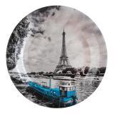 """Pappteller """"Weltstadt Paris"""" 10er Pack"""