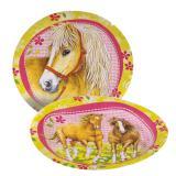 """Pappteller """"Pferdeland"""" 8er Pack"""