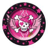 """Pappteller """"Pirate Girl"""" 8er Pack"""