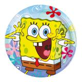 "Pappteller ""Spongebob Schwammkopf"" 8er Pack"