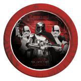 """Pappteller """"Star Wars - Die letzten Jedi"""" 8er Pack"""