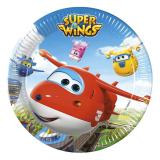 "Pappteller ""Super Wings"" 8er Pack"
