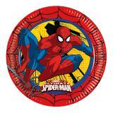 """Pappteller """"Ultimate Spiderman"""" 8er Pack"""