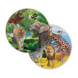 "Pappteller ""Wildes Safarileben"" 8er Pack"