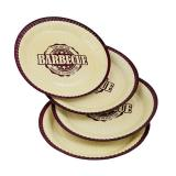 """Pappteller """"Barbecue-Party"""" 8er Pack"""