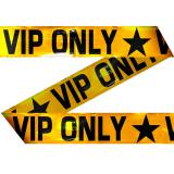 "Party-Absperrband ""VIP ONLY"" 15 m"