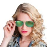 Partybrille Green Shine