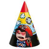 """Partyhütchen """"Kleiner Pirat"""" 6er Pack"""
