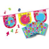 "Personalisierbare Wimpel-Girlande ""Candy"" 4 m"