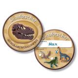"Personalisierbarer Ausweis ""Dinosaurierleben"" 6er Pack"