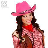 Pinker Lady Cowboyhut
