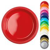 """Plastikteller """"Farbenpracht"""" 10er Pack"""