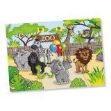 """Platzset """"Willkommen im Zoo"""" 8er Pack"""