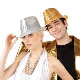 Popstar-Hut mit Pailletten