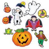 "Raumdeko ""Halloween Motive"" 10-tlg."