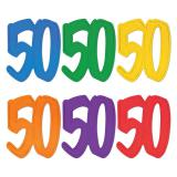 "Raumdeko Jubiläums-Zahl ""50"" 30 cm"