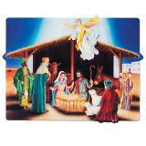"""Raumdeko """"Krippe von Bethlehem"""" 57 x 44 cm"""