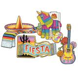 "Raumdeko ""Mexikanische Fiesta"" 41 cm 4-tlg."