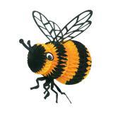 Raumdeko Wabenpapier-Biene 20 cm