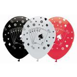 """Luftballons """"Casino Life"""" 6er Pack"""