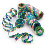 """Riesen-Luftschlangen """"Happy Partytime"""" 3er Pack"""